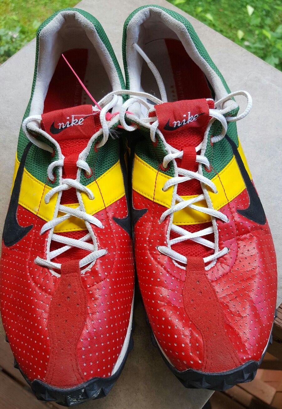 Nike bill bowerman 2005 colorway vintage - jamaican running schuhe der größe 11 track