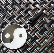 Yin Yang Taiji cell phone Charm Anti Dust Plug Ear Jack For iPhone smartphone