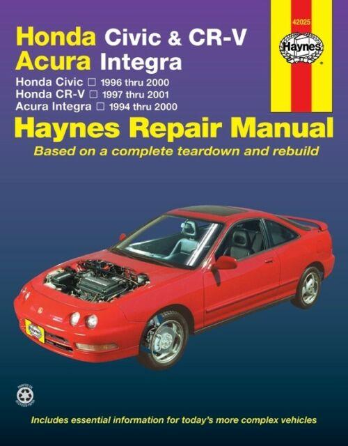 Repair Manual   Haynes Publications   42015