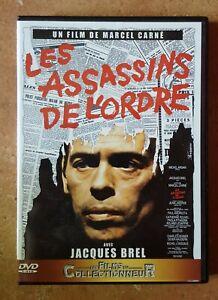 DVD-LES-ASSASSINS-DE-L-039-ORDRE-Jacques-BREL-Catherine-ROUVEL-Marcel-CARNE