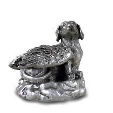 PEWTER Angel DACHSHUND Dog Figurine Statue New