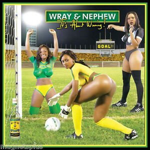 Image Is Loading Wray And Nephew Rum Sexy Soccer Girls Beer