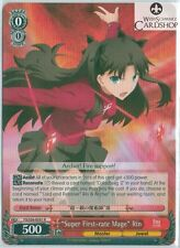 """Weissschwarz Fate/stay night UBW vol.2 """"Super first-rate Mage"""" Rin fs/s36-e051 R"""