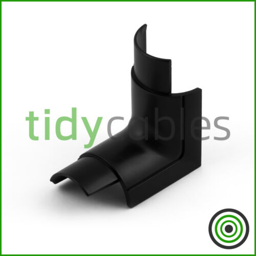 D-Line 30x15 Internal Bend for TV Cable Cover Wire Hiding Trunking All Colours