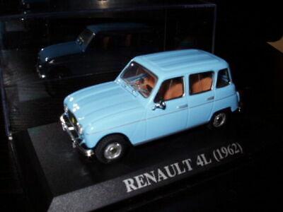 4L11F Voiture 1//43 Universal Hobbies Renault R 4 L 1962 bleu