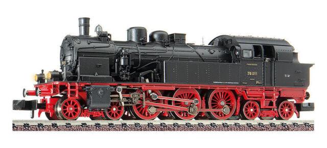 Fleischmann 707582 Tenderdampflokomotive BR 78 010 DRG Ep.II DCC Spur N NEU