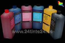 6 1 L Liter Ink Pigment UV HP DesignJet 5000 5500 No 83 HP83 C4940A C4941A C4942