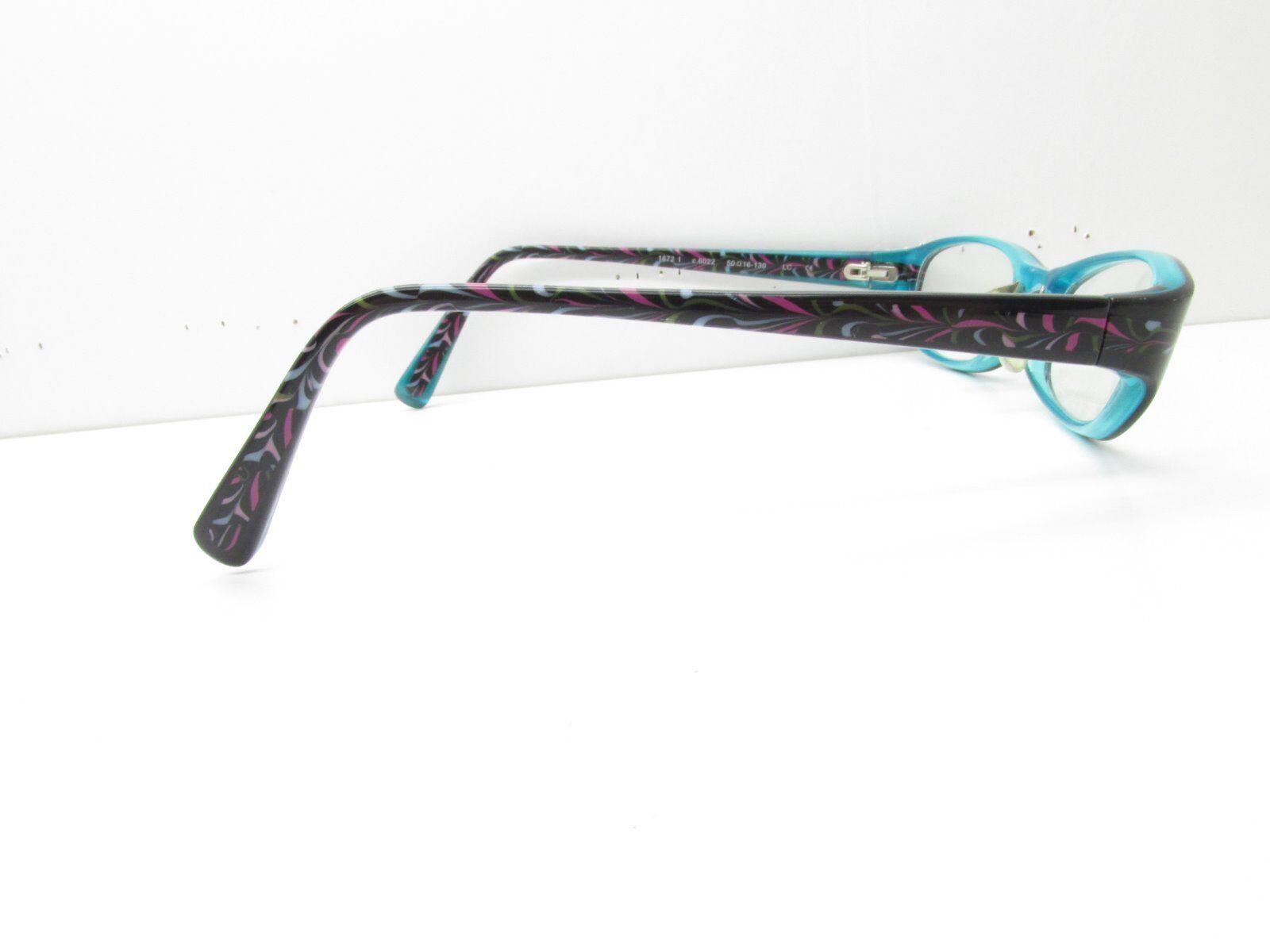 e9d2eb931ec PRODESIGN Denmark 1672 Eyewear Frames 50-16-130 Black Rectangle Tv6 32028