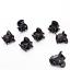 12PCS-Set-Women-039-s-Girl-Black-Plastic-Mini-Hairpin-6-Claws-Hair-Clip-Clamp-JT thumbnail 4
