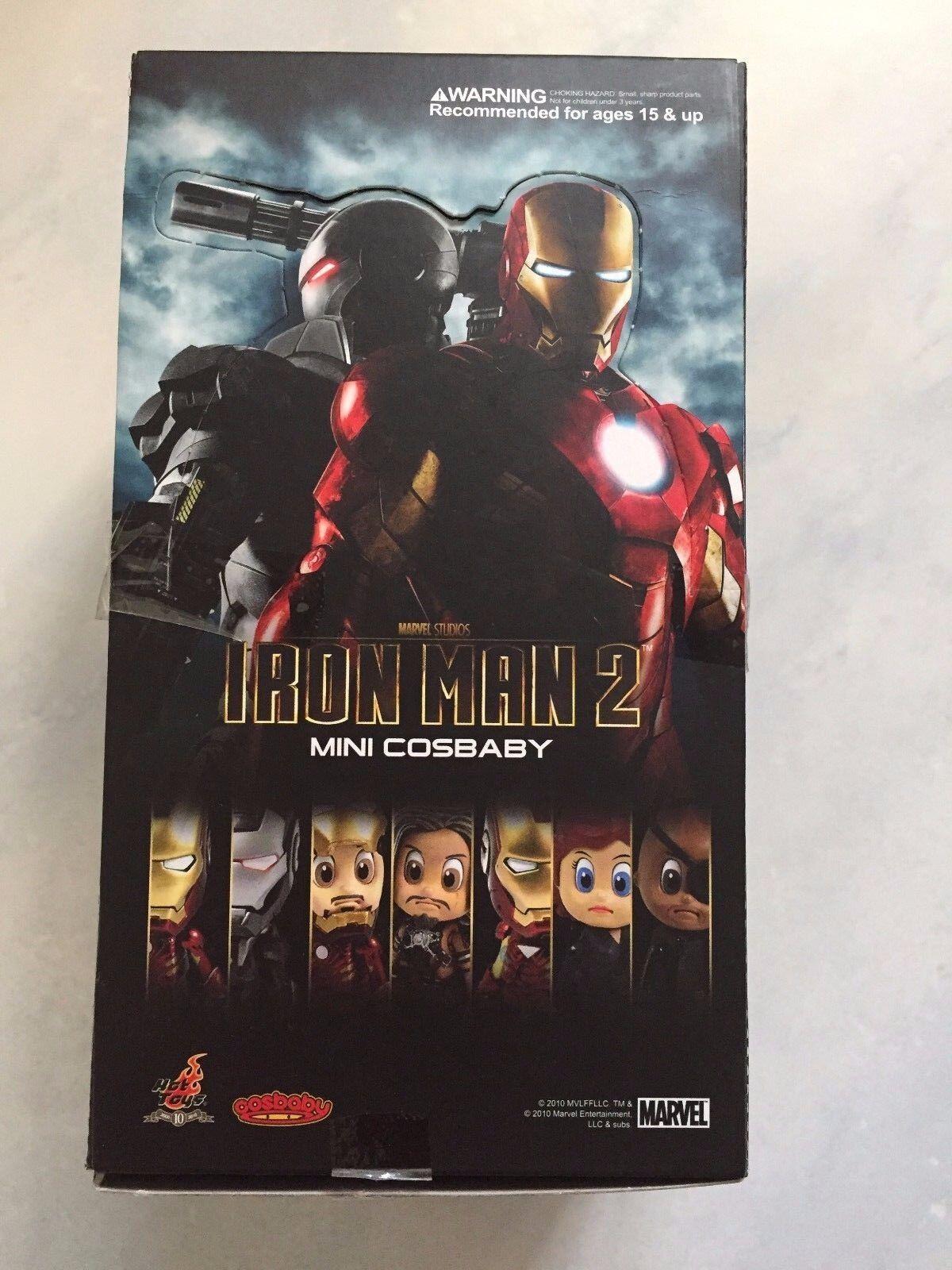 Hot Hot Hot Toys Marvel Studios Iron Man 2 Mini Cosbaby Set of 8 Brand New Free Ship 09b424