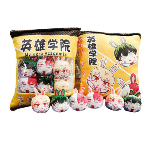 Anime My Hero Academia Cosplay Plush Doll Pillow Cushion Snack Package Gift Toy