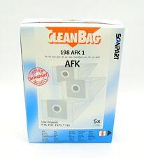 CleanBag 198 AFK 1 - 5 Staubsaugerbeutel (2-Lagen-Beutel), 1 Motorschutzfilter