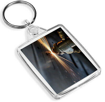 Affidabile Laser Cutting Cnc Machining Keyring Machinery Awesome Boys Dad Gift #16138 Prezzo Più Conveniente Dal Nostro Sito