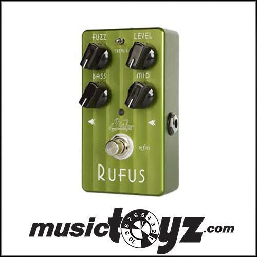 Suhr Rufus Fuzz Guitar Pedal - NEW Auth - FREE Ship and Gift