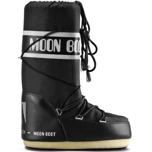 Moon Boot Nylon Unisex Moonboots schwarz black