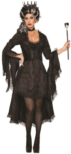 Ladies Wicked Princess Corpse Bride Corset Halloween Fancy Dress Costume Outfit