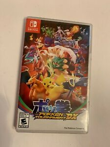 Pokken Tournament Dx Nintendo Switch Pokemon Tekken 45496591137 Ebay