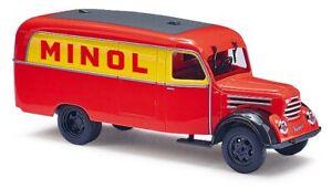 Busch-51813-Robur-Garant-K30-Box-Minol-Car-Model-1-87-H0