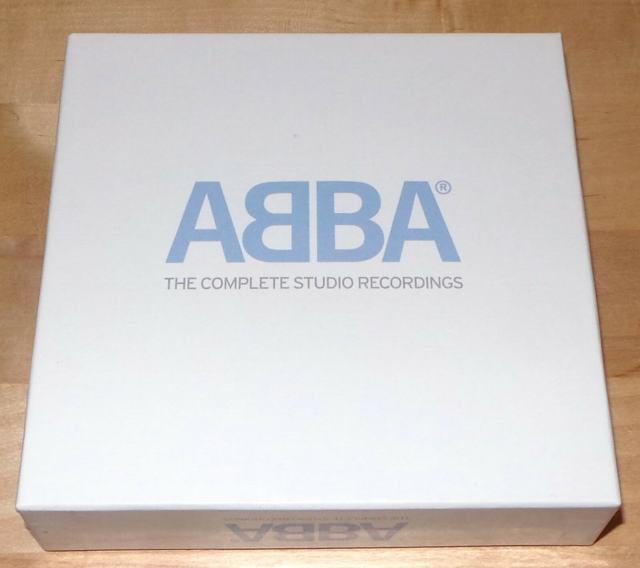 ABBA: Box: The Complete Studio Records, pop, Hvid boks med…