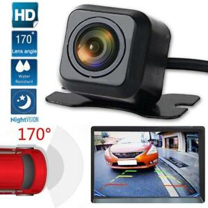 Good 12v Hd 170º Car Rear View Reverse Backup Parking Camera Night Vision Waterproof Rear View Monitors/cams & Kits