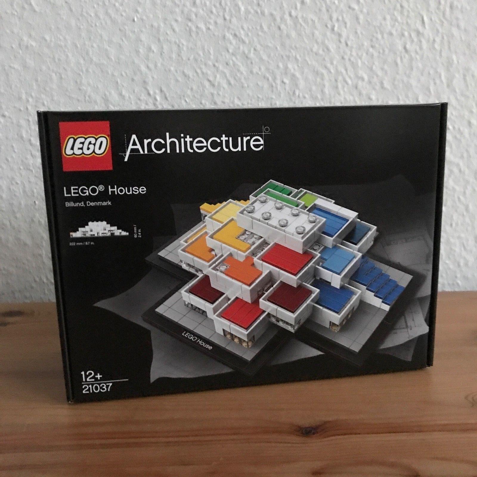 Lego set 21037  Lego House (Exklusiv -Lego butik i Billund, DK
