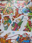 SNOW CHRISTMAS WALL STICKERS XMAS Shop Window Stickers XMAS TREE WALL STICKER