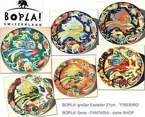 FIREBIRD-BOPLA-Porzellan-grosser-Essteller-27cm-Large-plate-10-Assiette-grande
