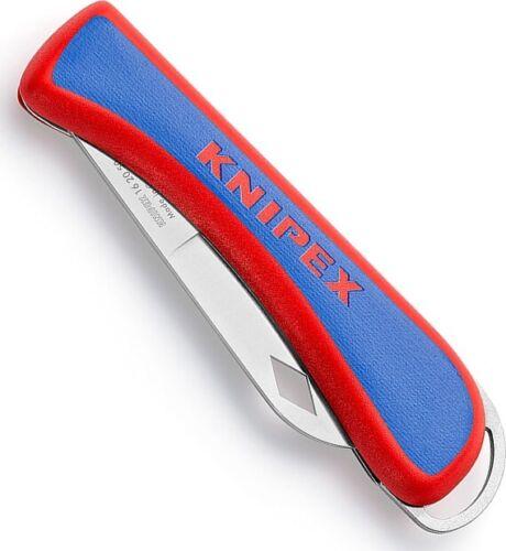 KNIPEX Elektriker-Klappmesser 120mm Kabelmesser klappbar 16 20 50 Messer 1620