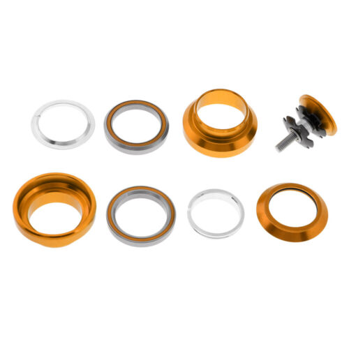 34mm Threadless Bicycle Bike Headset Sealed Bearing  Fixed Gear With Tops Cap