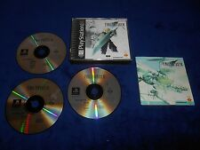 Final Fantasy VII Complete Game Playstation PS1 CIB FFVII FF7