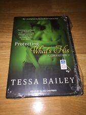Protecting What's His ~ Tessa Bailey ~ MP3 CD Unabridged Audio UAB UNAB
