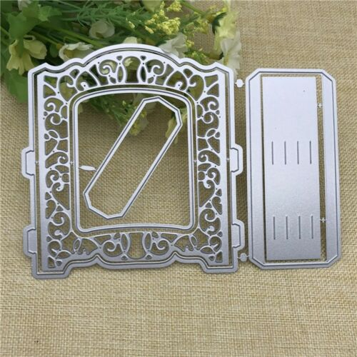 Door Frame 3D Greetings Card Stencil Metal Cutting Dies Scrapbooking Embossing