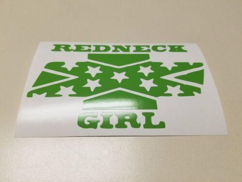 Window Toolbox Sticker #203 Redneck Girl Sticker