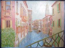 Joel Roman, Venezia Nella Foschia, Original Oil Painting Art Artwork SubmitOffer