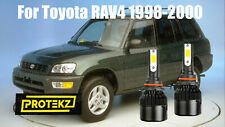 Led Rav4 1998 2000 Headlight Kit 9006 Hb4 6000k White Cree Bulbs Low Beam