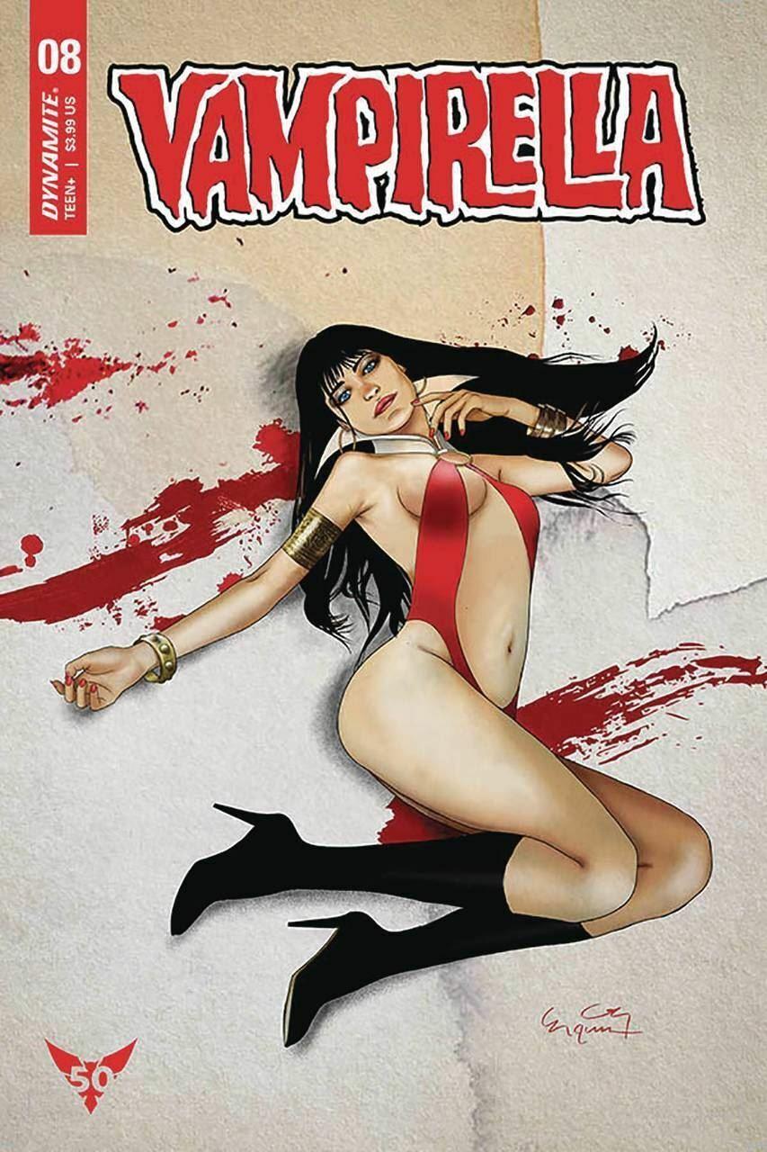 Vampirella #8 Cover A VF//NM 2020 Dynamite Vault 35