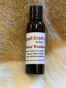 Deer Trailing Lure, Buck Urine, Doe in Heat Pheremones, Scent, Strong Attractant