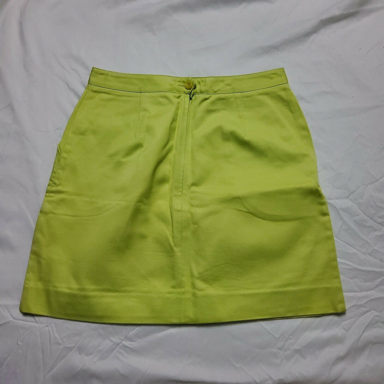 Esprit Neon Green Skirt - image 8
