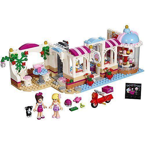 LEGO Friends 41119 41119 41119 Heartlake Cupcake Cafe Ages 6-12 439 pcs NEW Sealed e9e236