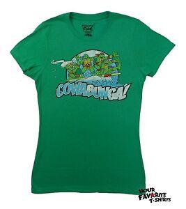Teenage-Mutant-Ninja-Turtles-Cowabunga-Surfing-Junior-T-Shirt