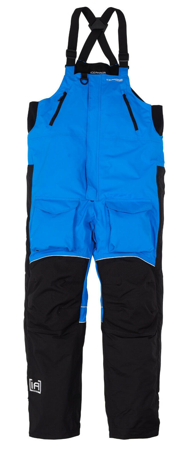 NEW CLAM ICE ARMOR EDGE COLD WEATHER BIBS blueE 3X 10298