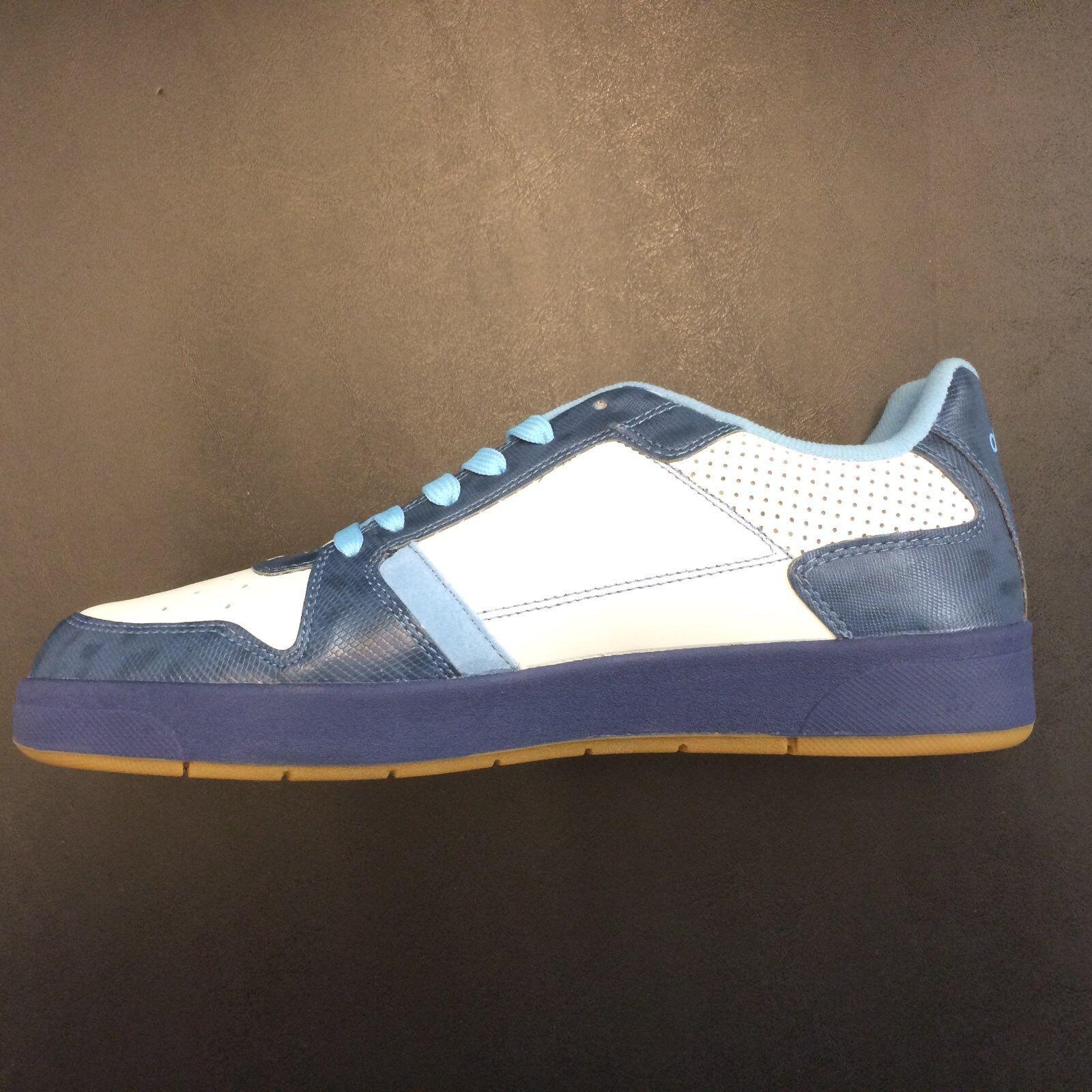 Uomo akademiks INTELLIGENT Navy/White Low Top Top Top Shoes AMA082-482 2e2104