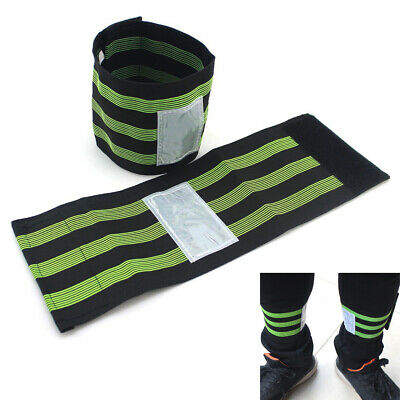 2 Pair Bike Bicycle Cycling Trouser Ankle Pant Band Belt Leg Strap Brace Wrap