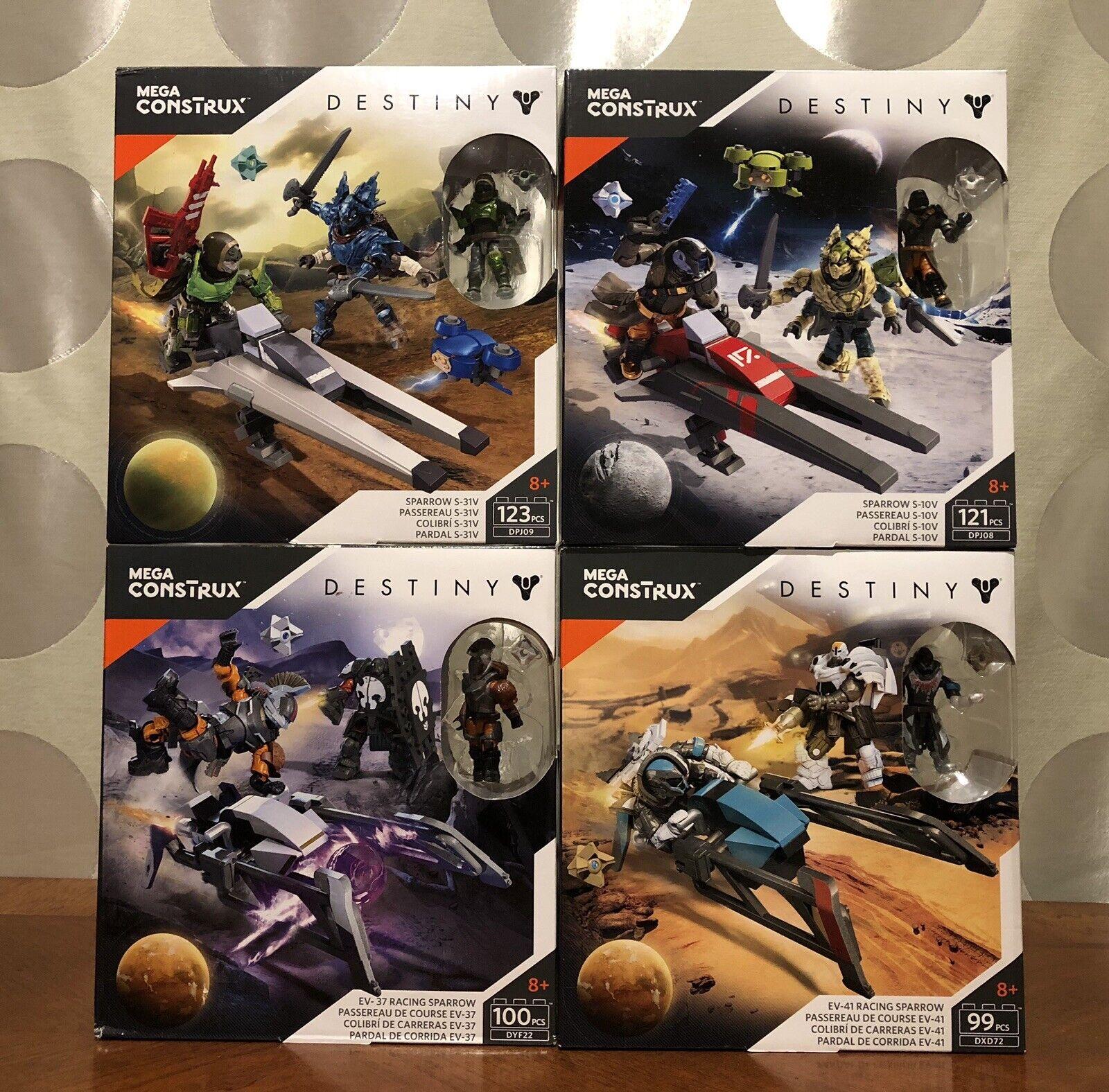 Mega Construx Destiny Lot Of 4.Brand New