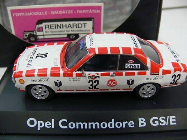 1 43 SCHUCO OPEL COMMODORE B GS E SPA SPA SPA 24 H 1973 02778 54d55d