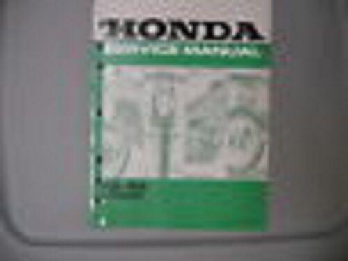 Honda Factory Service Repair Shop Manual 1992