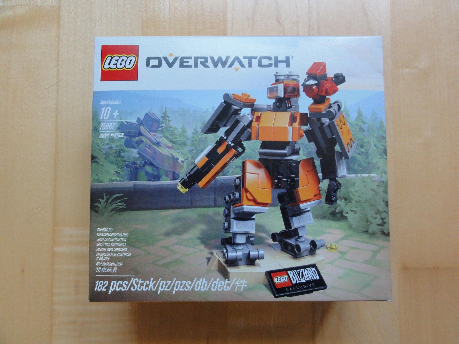 Lego 75987 - Overwatch - Omnic Bastion - Blizzard Exklusiv - NEU & OVP
