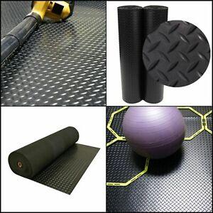 Mat 4 X 8 Ft Black Garage Flooring