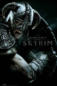 Skyrim-Attack-Maxi-Poster-61cm-x-91-5cm-new-and-sealed