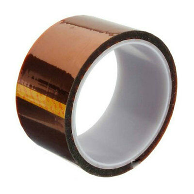 30m Tawny 3D Sublimation Kapton Tape, Heat Resistance Proof Tape